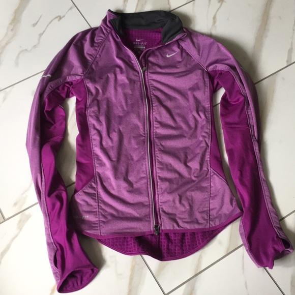 Nike Veste En Cuir Violet Blazer